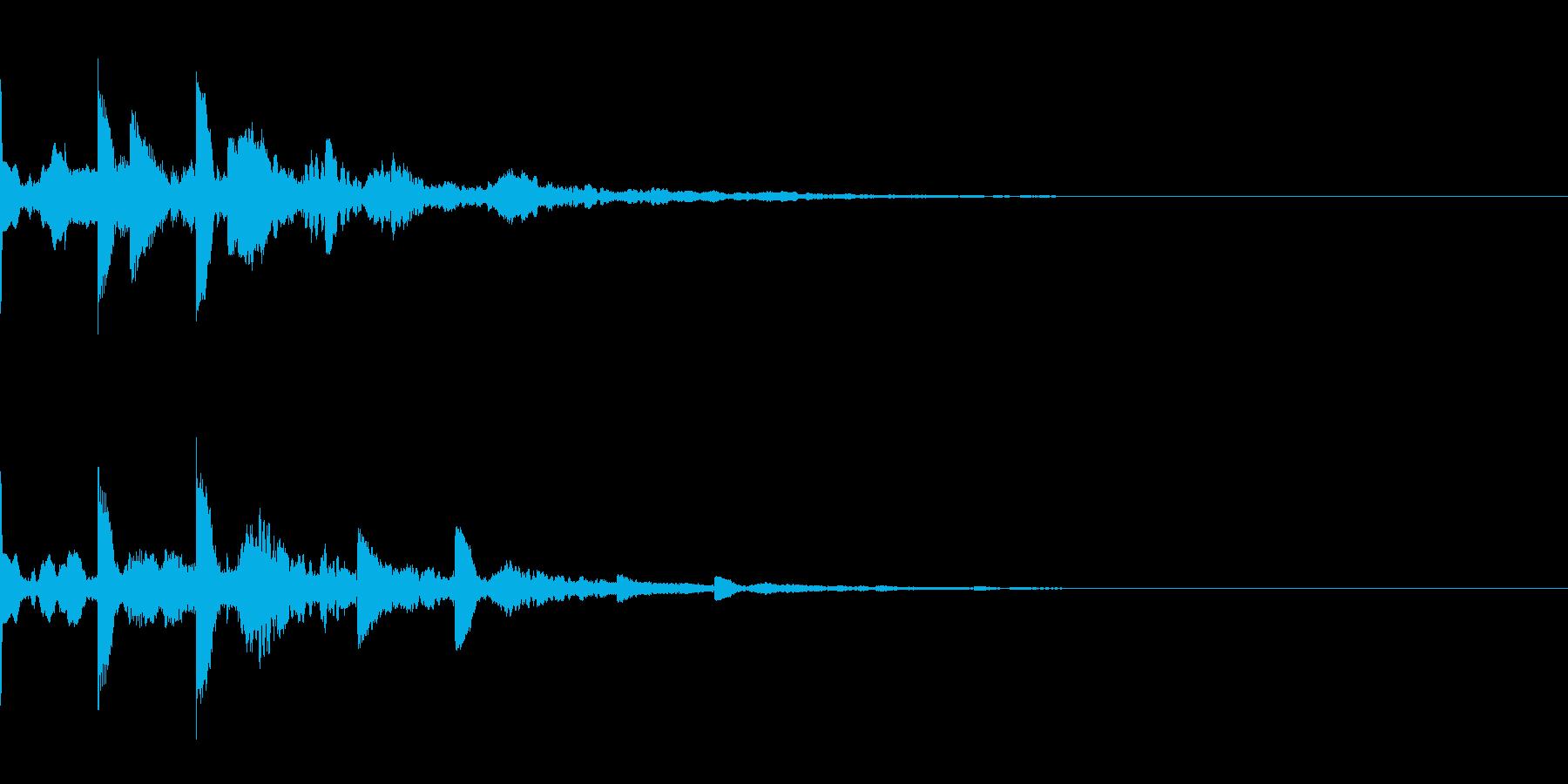 ニュース・お知らせ8の再生済みの波形