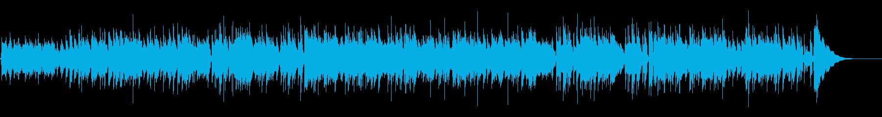 のんびりほっこりラグタイム風アコギBGMの再生済みの波形