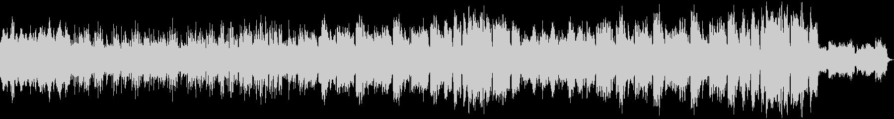 弾むリズムで前向き感のあるジャズ風POPの未再生の波形