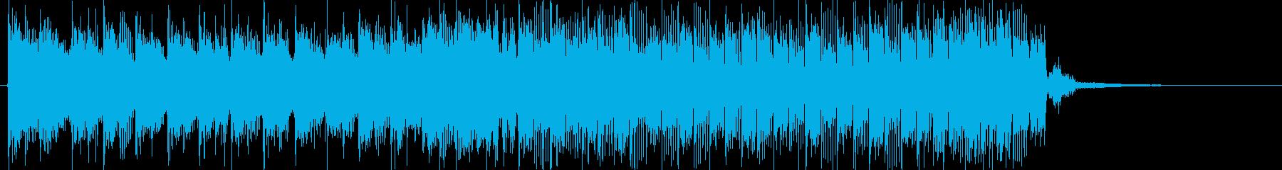クラブをイメージの再生済みの波形