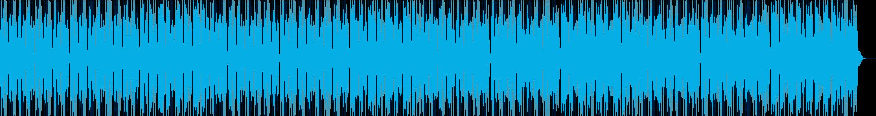 おまぬけコミカルの再生済みの波形