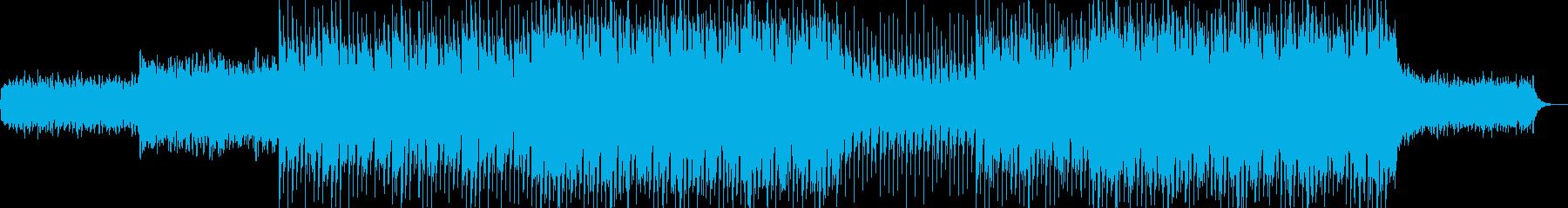 EDMポップで明るいクラブ系-41の再生済みの波形