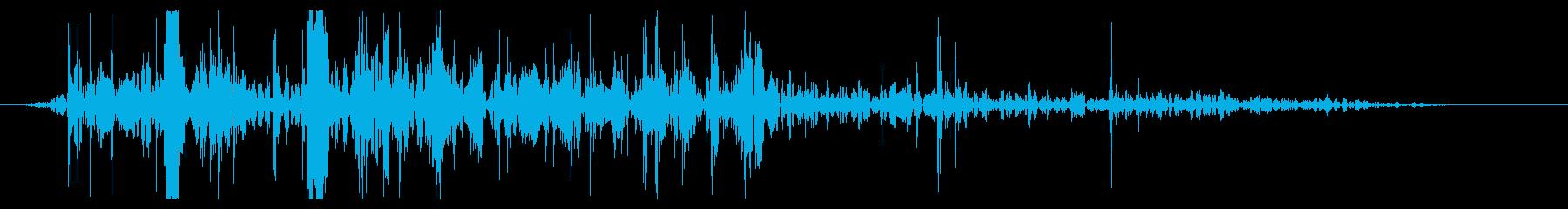 ミディアムボールダー:ロールオフパ...の再生済みの波形