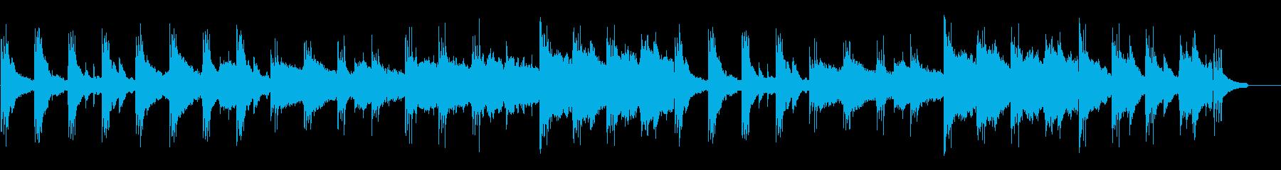 感動、美しい、ピアノ、弦、ノスタルジックの再生済みの波形