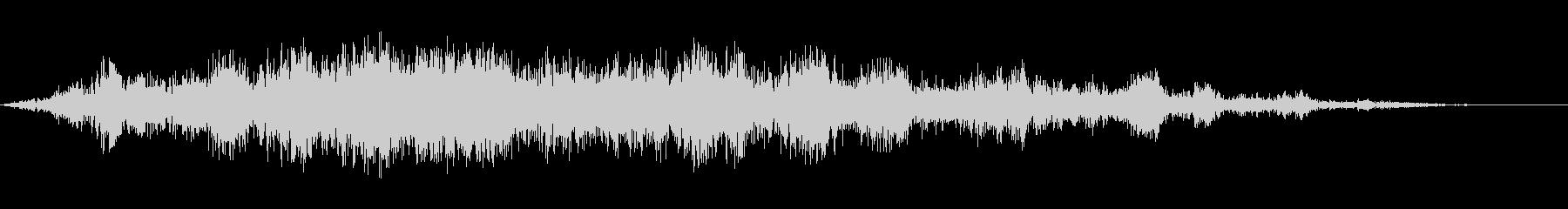中聴者の笑い;ヴィンテージ録音;笑う群衆の未再生の波形