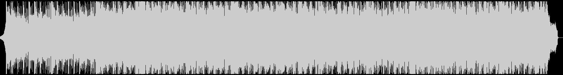 シンセのリフとカノン系ストリングスの未再生の波形