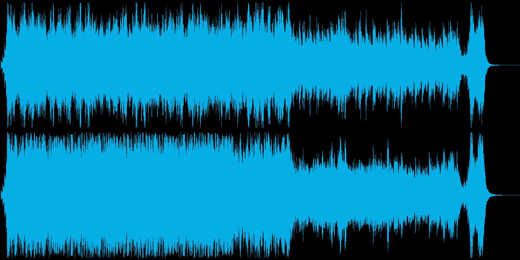 ハリウッド映画風の壮大なオーケストラ2Bの再生済みの波形