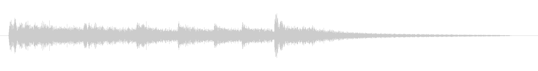 擬音【たりらりたりら〜】【エンコード1…の未再生の波形