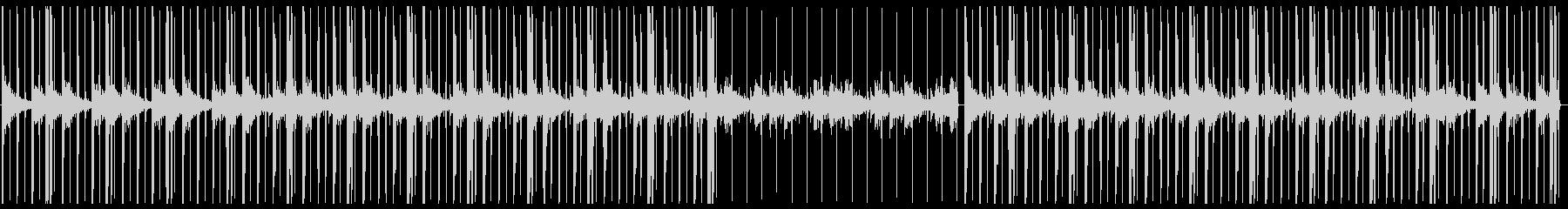 チルアウト・ローファイヒップホップ・Kの未再生の波形