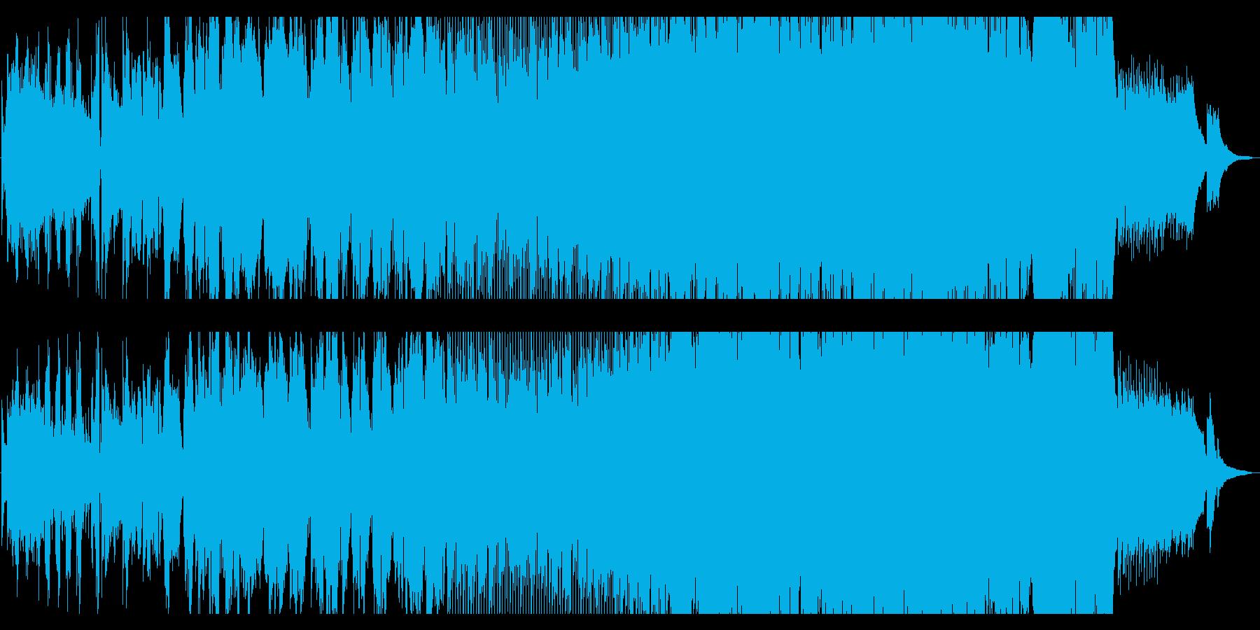 幻想的で幻惑的なスペースポップの再生済みの波形
