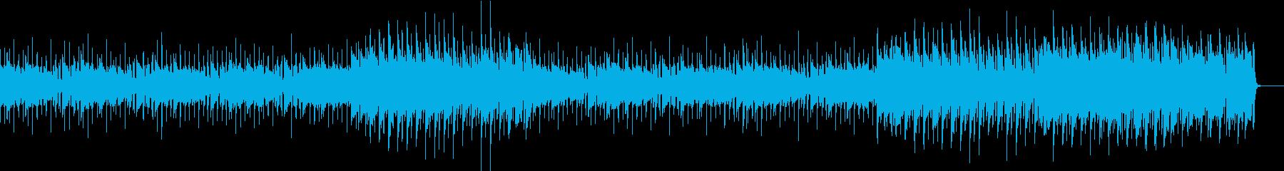 エレピの夜のテーマの再生済みの波形