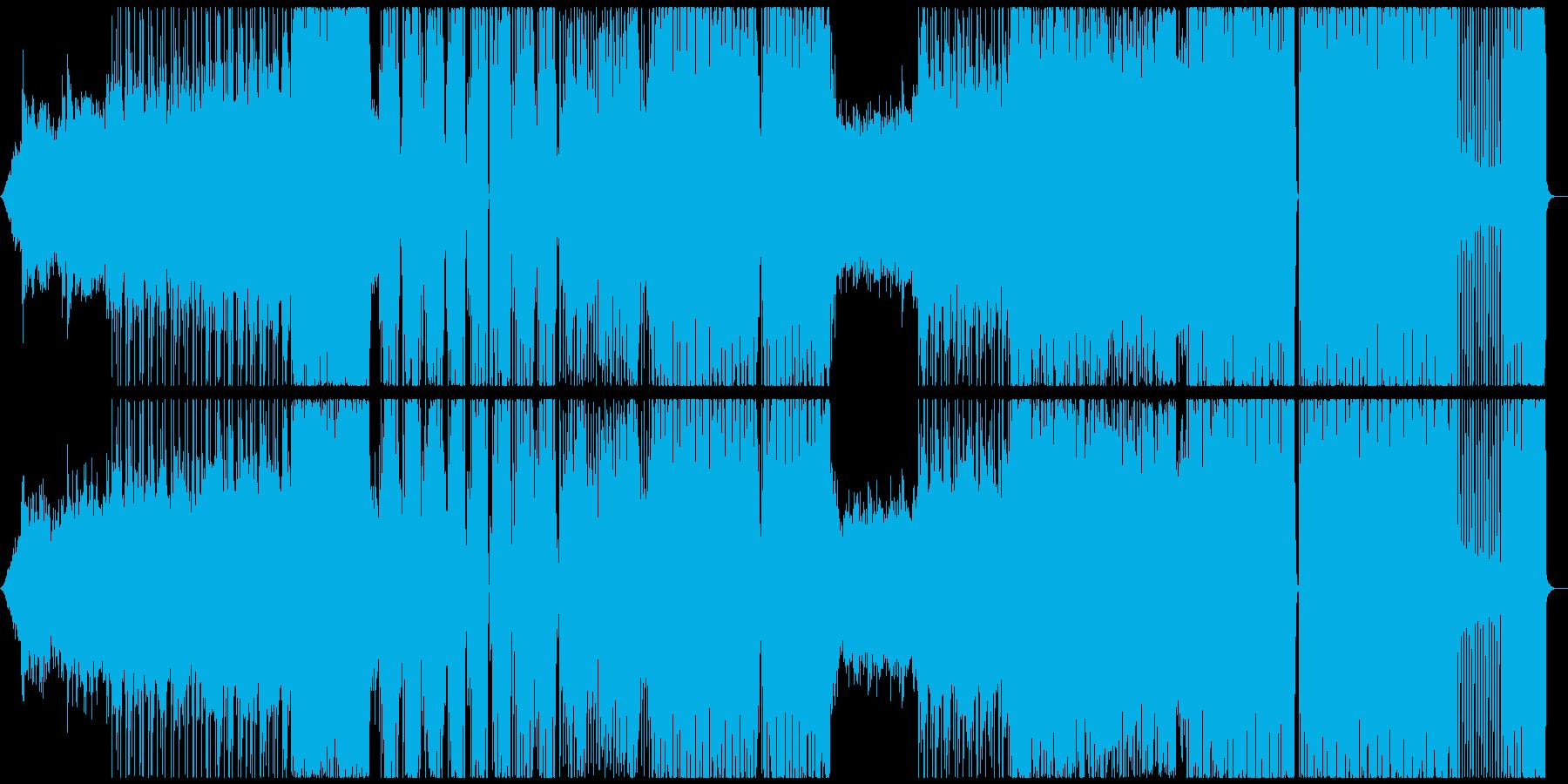 エモーショナルなFuture Bassの再生済みの波形
