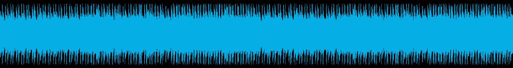 ホラー。モンスターの潜むダンジョン。の再生済みの波形