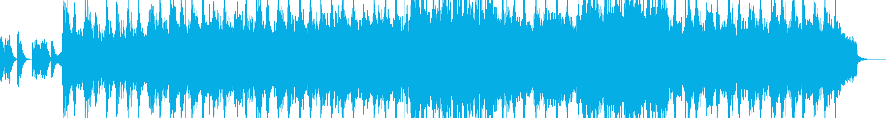 宇宙の未来の再生済みの波形