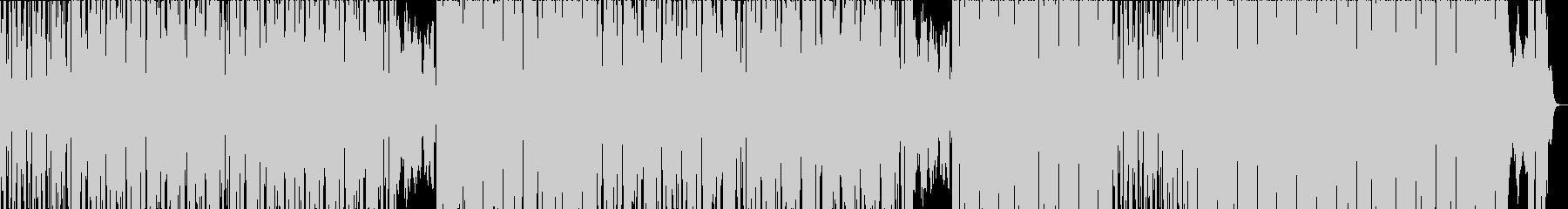 アラビア風ヒップホップトラックの未再生の波形