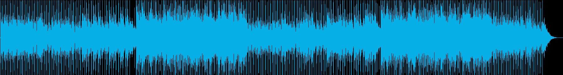 生アコギの優しく穏やかなメロディの再生済みの波形