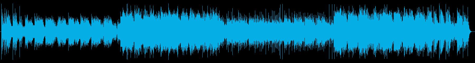 SAXが物悲しく響くエンドレスサマーの再生済みの波形