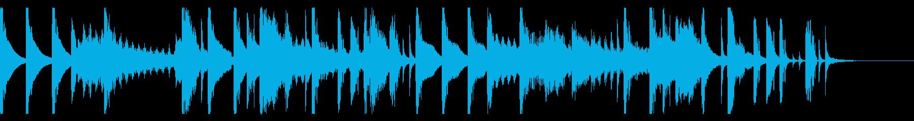 シンコペーションエレクトロポップの再生済みの波形