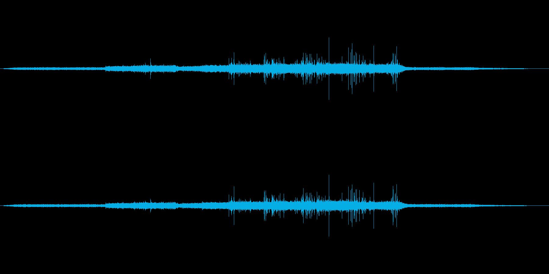 コンピューターレーザープリンターの...の再生済みの波形