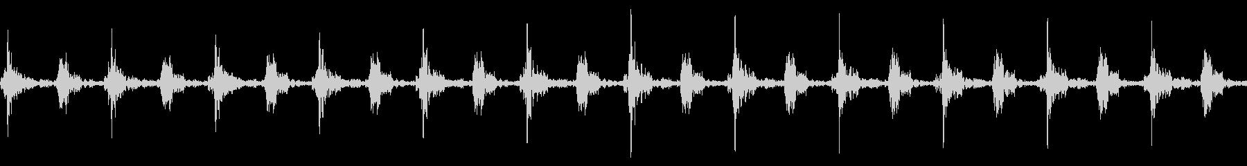 車のワイパーの動作音/連続/速いの未再生の波形
