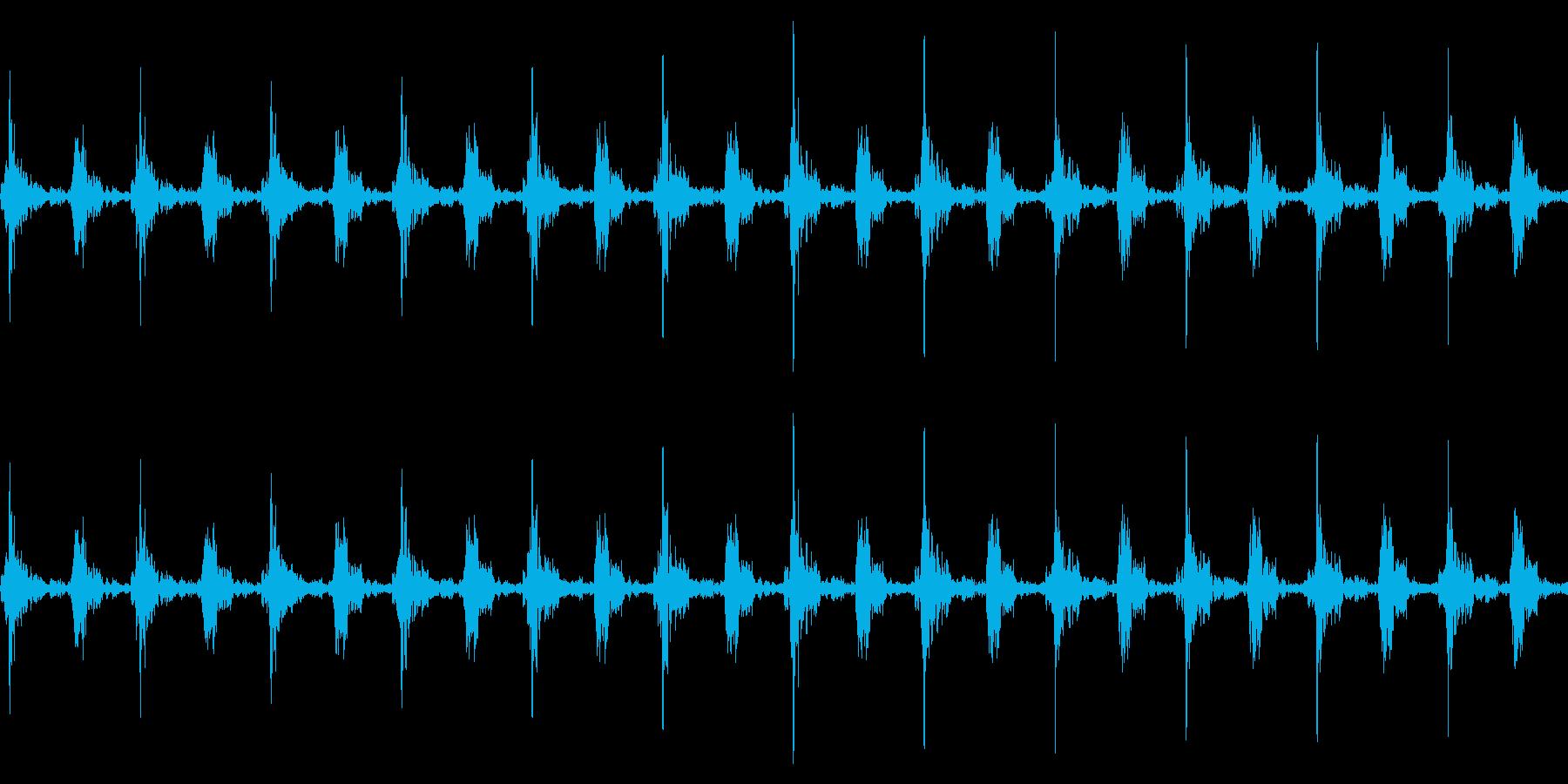 車のワイパーの動作音/連続/速いの再生済みの波形