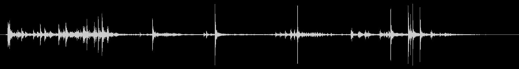 セロリ:シングルカットの未再生の波形