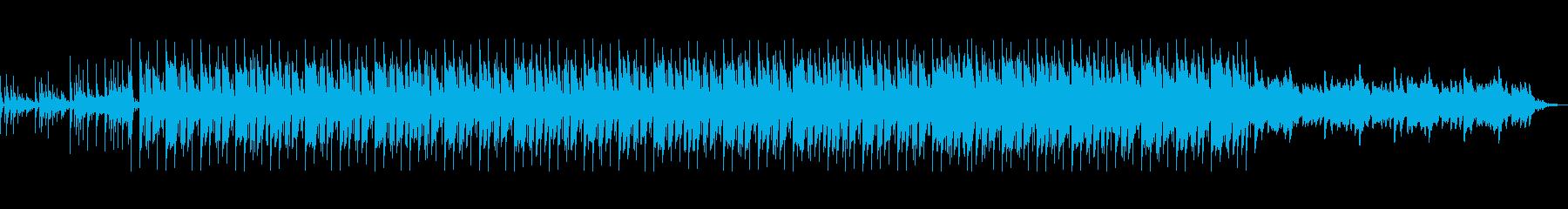 おしゃれでなつかしさのある優しい曲の再生済みの波形
