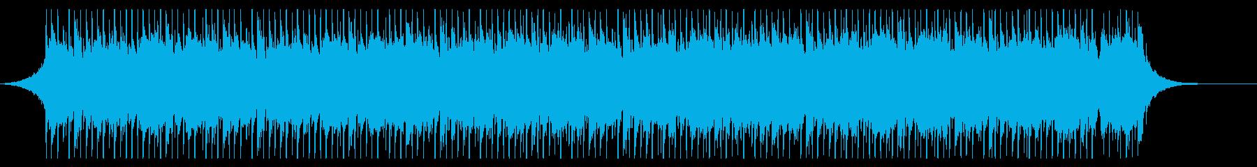建物(60秒)の再生済みの波形