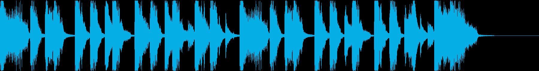 Pop/Electronic/Funの再生済みの波形
