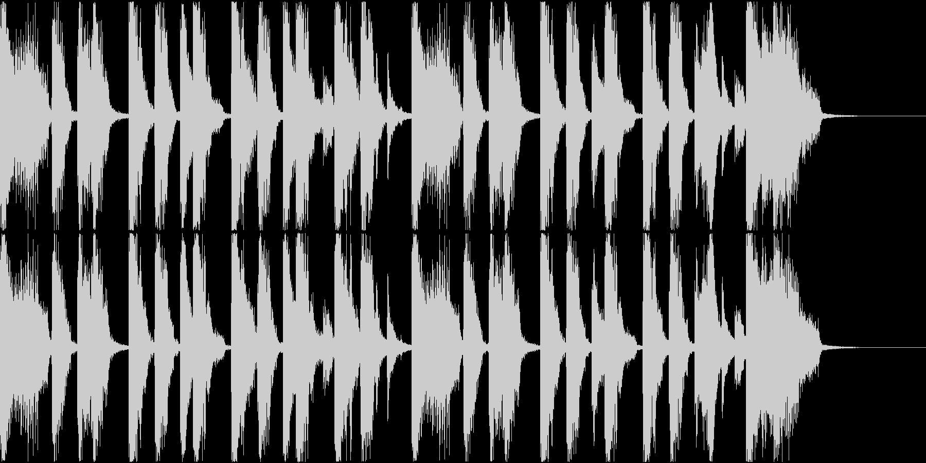 Pop/Electronic/Funの未再生の波形