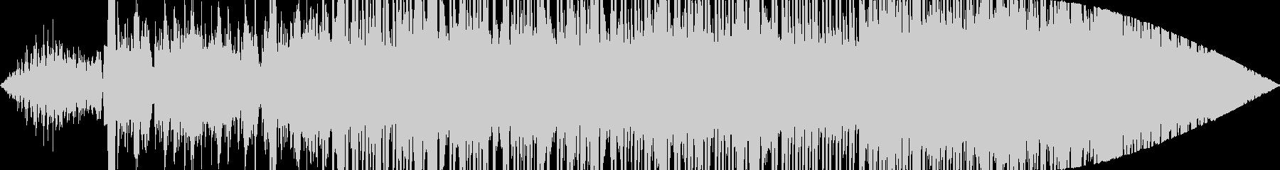 壊れかけの機械のような曲の未再生の波形