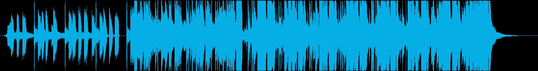 ハウス ダンス プログレッシブ フ...の再生済みの波形
