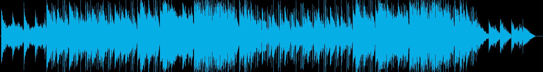 ややスローで伸びのある爽やかなポップスの再生済みの波形