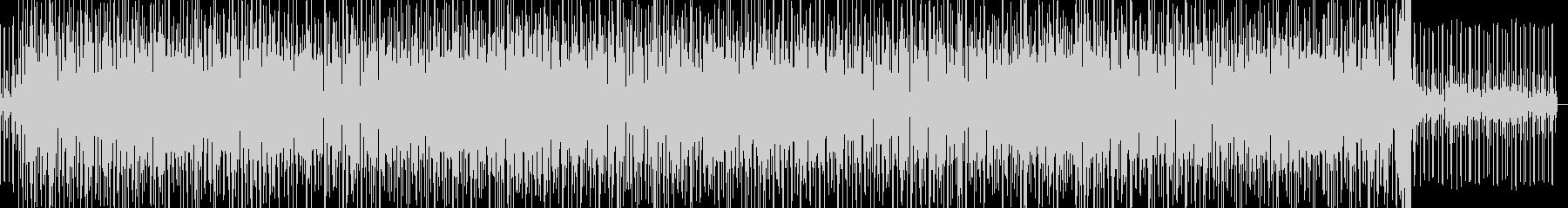 チャチャファンクとカスタネットの未再生の波形