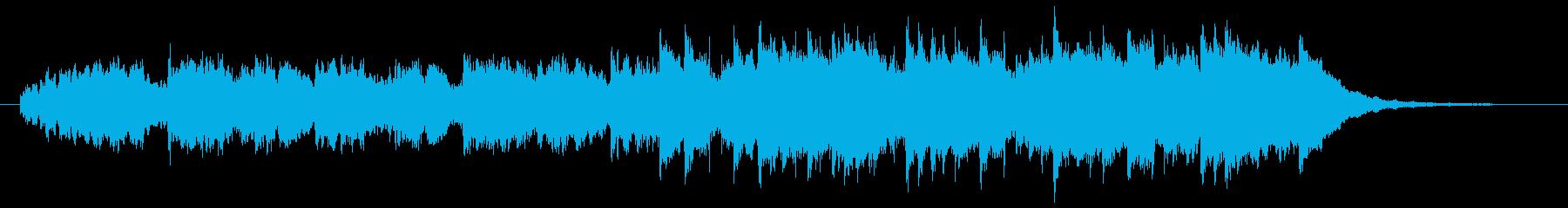 芽吹きを感じる3拍子のピアノ曲の再生済みの波形