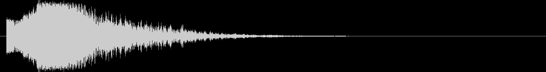 派手で印象的な斬撃音#8の未再生の波形