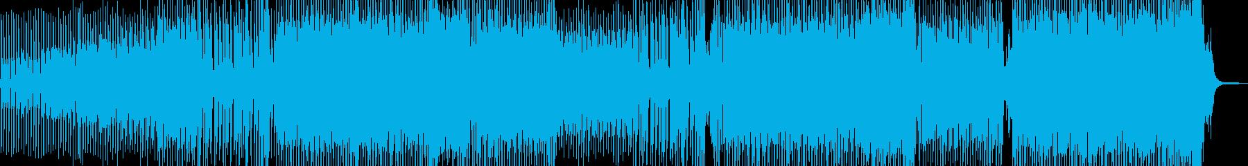 シュワッとしたシンセが爽快なEDM Bの再生済みの波形