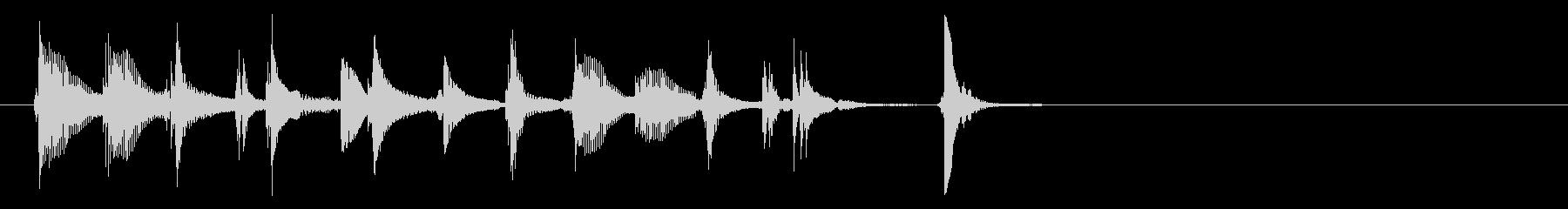 三味線98ロックっぽいリフ生音歌舞伎和風の未再生の波形