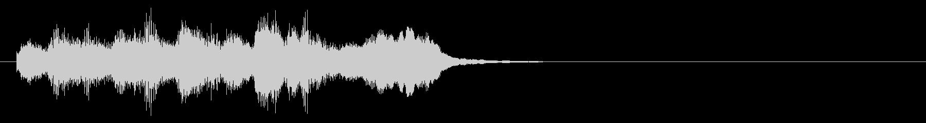 のほほんジングル011_かっこいい+3の未再生の波形