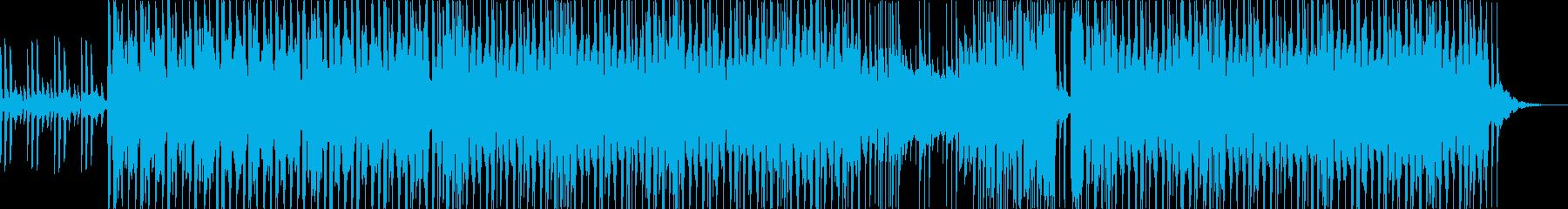 【Vlog】爽やかトロピカルハウスEDMの再生済みの波形