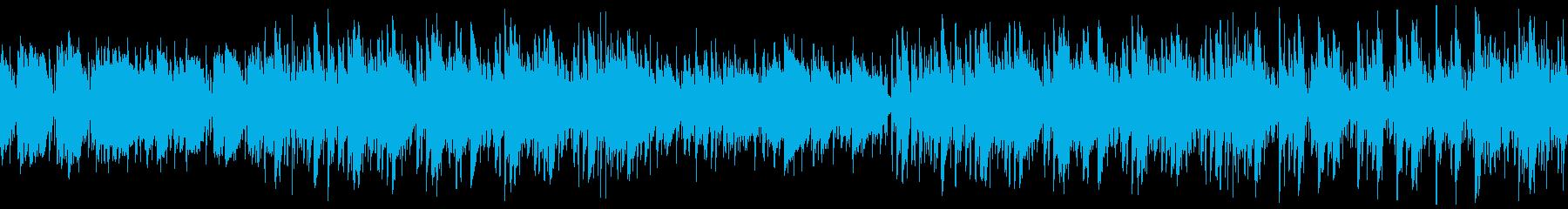 CM・大人な夏の海・ジャズ・ループの再生済みの波形