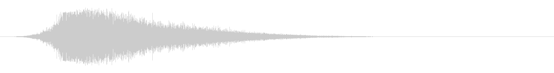 レーザー音-118-3の未再生の波形