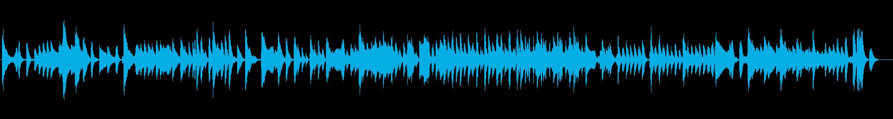 いたずらっぽく、ワクワクとしたBGMの再生済みの波形