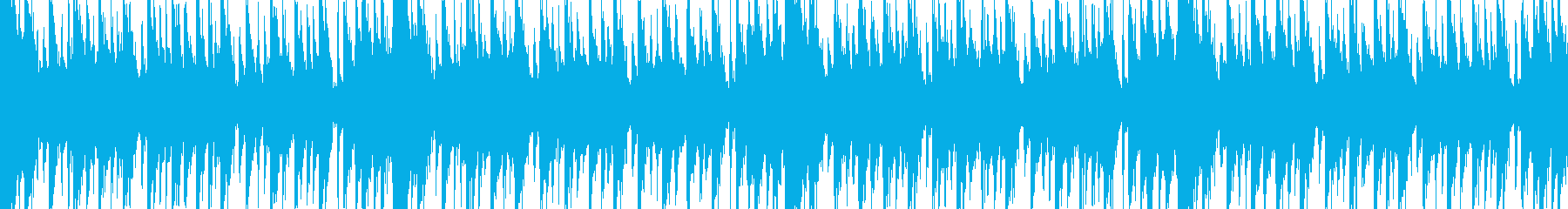 カッティングギター系短ループ曲の再生済みの波形