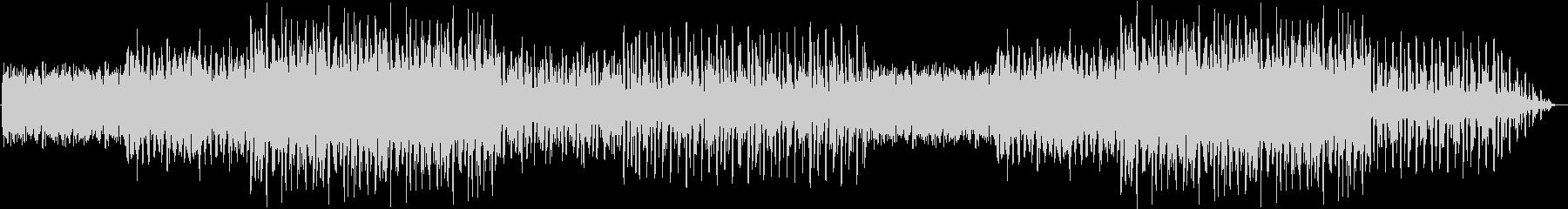 都会的なイメージのエレクトロミュージックの未再生の波形