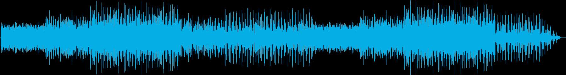都会的なイメージのエレクトロミュージックの再生済みの波形