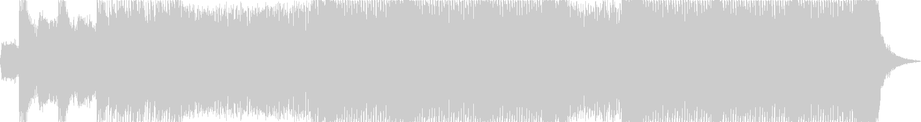 【リード抜】ヘヴィーで攻撃的エレキギターの未再生の波形