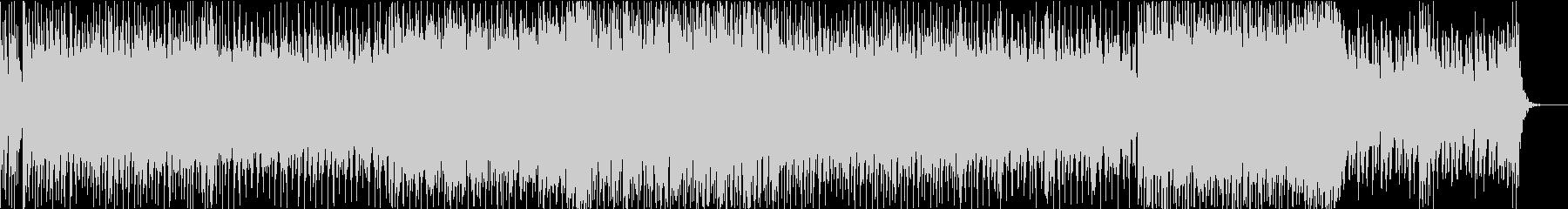 和楽器を使った四つ打ちEDMの未再生の波形