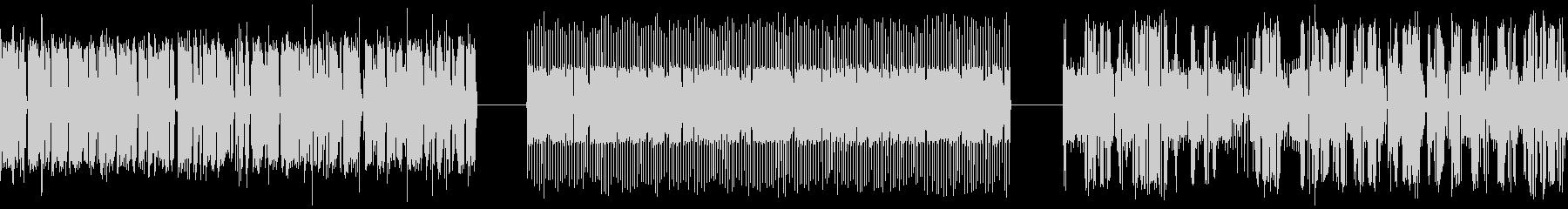ランダムな周波数、サンプルとホール...の未再生の波形