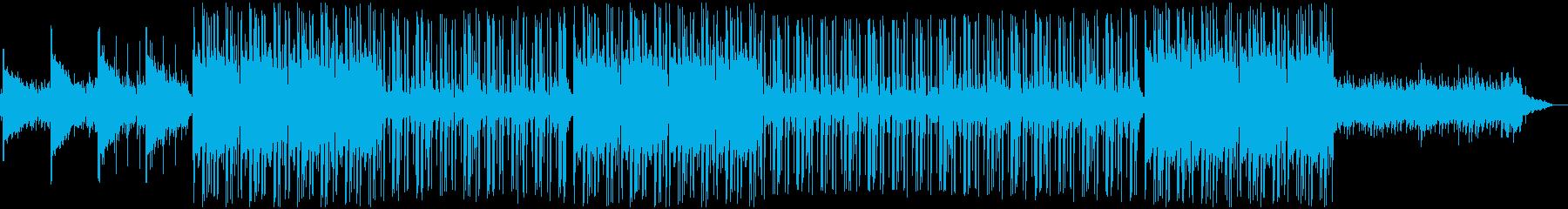 ラテン ダンス アップテンポ ビートの再生済みの波形